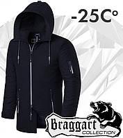 Braggart 'Black Diamond'. Парка зимняя 3772 черная, фото 1