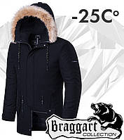 Braggart 'Black Diamond'. Куртка зимняя 3781 черная, фото 1