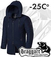 Braggart 'Black Diamond'. Парка зимняя 4052 темно-синяя, фото 1