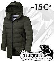 Braggart 'Black Diamond'. Куртка зимняя 9017 хаки, фото 1