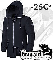 Braggart 'Black Diamond'. Парка зимняя 9018 графит, фото 1