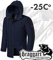 Braggart 'Black Diamond'. Парка зимняя 9062 темно-синяя, фото 1