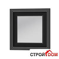 Зеркало Botticelli Treviso ТM -80 чёрное, патина серебро, фото 1