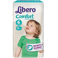 Подгузники Libero Comfort 6 XL 12-22 кг 16 шт N51306266