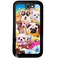 Чехол Drobak для Samsung N7100 Galaxy Note II (puppies) 3D (938903)