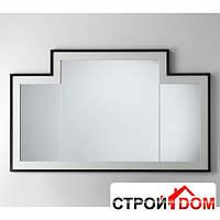 Зеркало подвесное 130 Devon&Devon Jetset Vogue 1 глянцевое черное покрытие, внутренняя рама в цвете