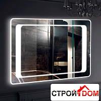 Прямоугольное зеркало с LED подсветкой Liberta Izeo 800x700