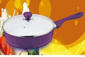 Кованная кованная литая сковорода Forget dia-casting fry pan, фото 2