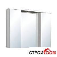 Зеркало для ванной комнаты Мойдодыр Тетрис 100x70 с двумя шкафчиками