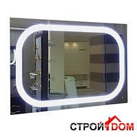 Прямоугольное зеркало с LED подсветкой Liberta Torento 800x700
