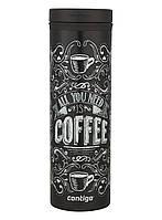 Термокружка Contigo TwistSeal Eclipse Coffee (590 мл) черный, фото 1