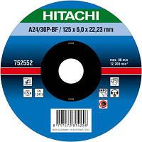 Круг зачистной Hitachi D230x6.0x22.2 мм металл N20502292