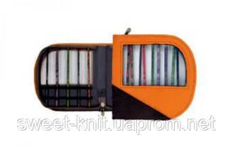 Чехол для крючков оранжево-черный KnitPro