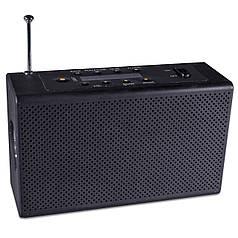 Фонарь с динамо Haoyi HY-018 черный с USB FM AM радио