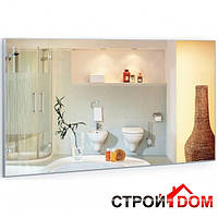 Прямоугольное зеркало в алюминиевой раме Liberta Aperto 800x600