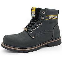 Черные ботинки CAT (Катерпиллер) Топ качество! р.(39, 40, 42, 43, 44)