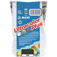 Затирка Mapei Ultracolor Plus 120 черная 2 кг N60307209