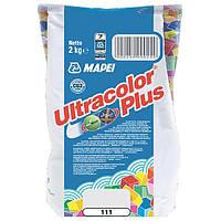 Затирка Mapei Ultracolor Plus 111 серебристо-серая 2 кг N60307190