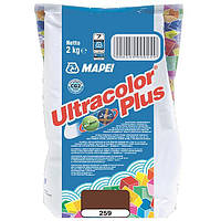 Затирка Mapei Ultracolor Plus 259 ореховая 2 кг N60307210