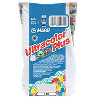 Затирка Mapei Ultracolor Plus 110 манхеттен 2 кг N60307224
