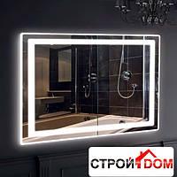 Прямоугольное зеркало с LED подсветкой Liberta Bergamo 800x700