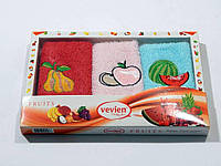 Салфетки Vevien 30*50 в коробке 3 шт. 30x50 2