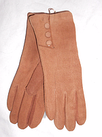 Перчатки женские замш зима ( 6 - 8 )