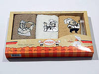 Салфетки Vevien 30*50 в коробке 3 шт. 30x50 3
