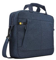 "Сумка для ноутбука CASE LOGIC Huxton 14"" Attache HUXA113 - (Синий)"