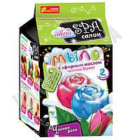 Набор для творчества Spa-салон Мыло с эфирным маслом Чайная роза Код: 15130012Р Изд: Ранок