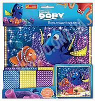 Набор для творчества Блестящая мозаика В поисках Немо Рыбка Дори Код: 13176012Р Изд: Ранок