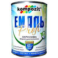Эмаль Kompozit Profi белая глянцевая 0.8 л N50103099