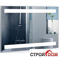 Прямоугольное зеркало с LED подсветкой Liberta Carema 900x700