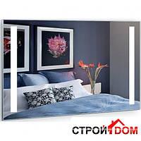 Прямоугольное зеркало с LED подсветкой Liberta Vista 800x700