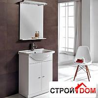 Комплект мебели для ванной комнаты Devit Vintage 65 0020122 белый