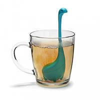 Силиконовый заварник для чая Baby Nessie OTOTO, бирюзовый