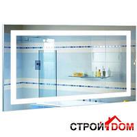 Прямоугольное зеркало с LED подсветкой Liberta Boca 900x800