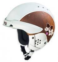 Горнолыжный шлем Casco Шлем SP-3 Edelholz Chalet white