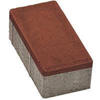 Плитка тротуарная Брусчатка 200x100x60 мм вишня N10426412