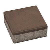 Плитка тротуарная Брусчатка 200x200x60 мм венге N10429068