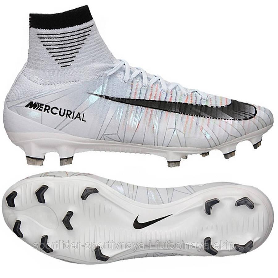 7a6d58a207c5 Бутсы футбольные Nike Mercurial SuperFly V CR7 FG 852511-401 - Спортлидер›  спортивная и