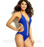 Купальник Монокини Victoria's Secret (синий),, фото 1