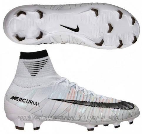 a924292165a9 Детские футбольные бутсы Nike Mercurial SuperFly V CR7 FG 922586-401 -  Спортлидер› спортивная