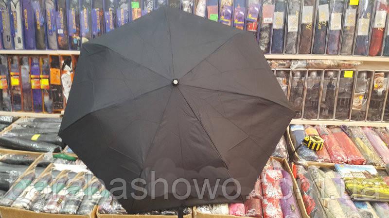 Чоловічий зонт механічний кишеньковий парасолька фірми Tornado сталева ніжка з 3 додавань на 8 спиць з повністю карб