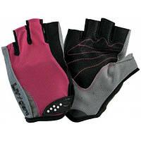 Велоперчатки женские Giant Road Pro Purple-Grey-Black, размер S