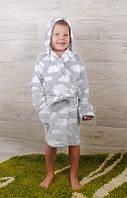 Детский халат махровый на рост от 104 до 134 см