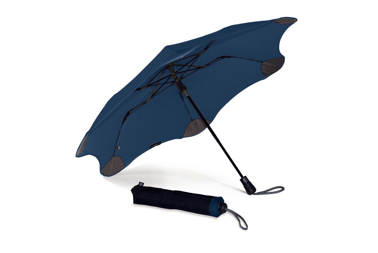 Зонт XS_METRO BLUNT темно - синий