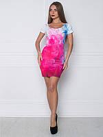 Платье Цветные брызги