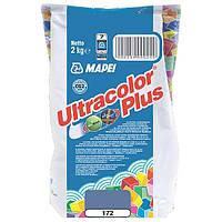 Затирка Mapei Ultracolor Plus 172 синяя 2 кг N60307221