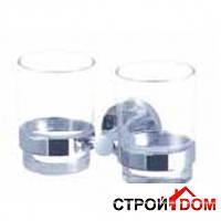Двойной держатель стакана Aqua-World Florida FL07 КСА007.07 хром